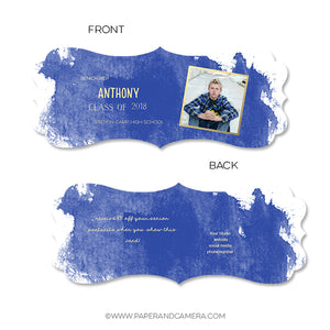 Splash Boy Senior Rep Card