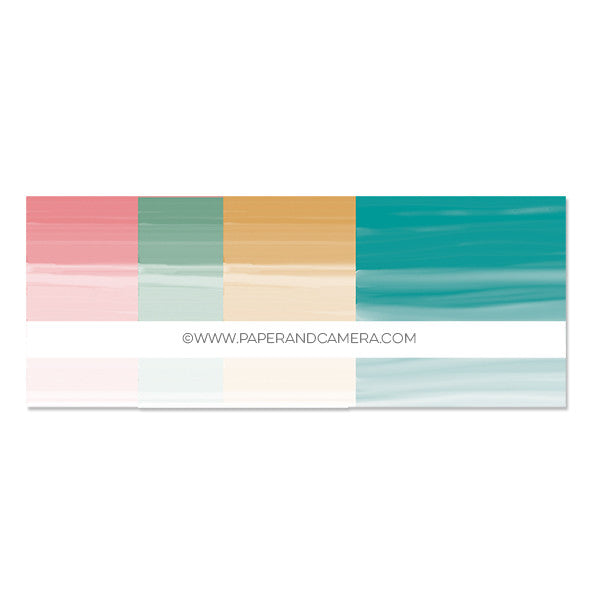 Spring Ombre Paper Pack