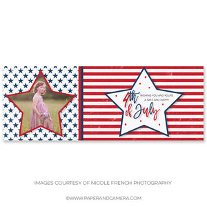 Stars and Stripes Timeline Cover