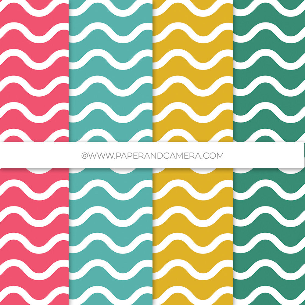 Waves Paper Pack