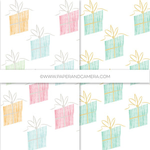 Whimsy Presents Holiday Papers