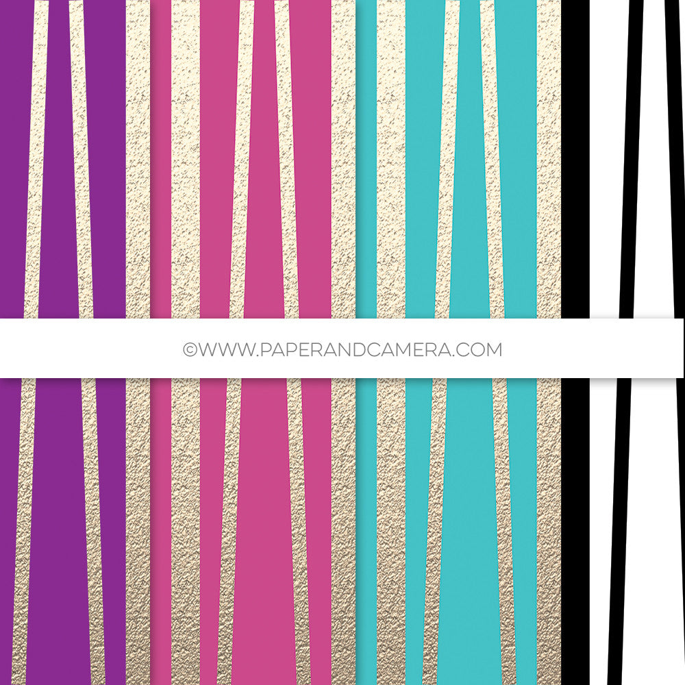 Whimsy Stripes Paper Pack