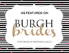 FEATURED! Burgh Brides // A Sparkling Rose Gold Ballroom Wedding