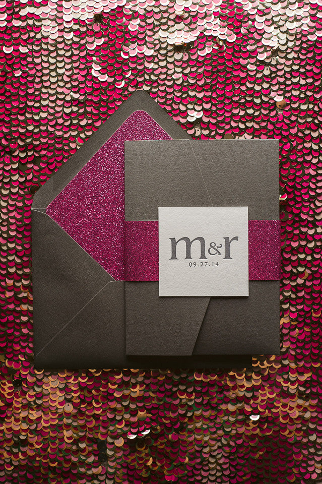 CYNTHIA Suite // STYLED // Glitter Pocket Folder Package