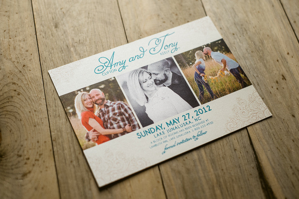*NEW* PHOTO Save The Dates