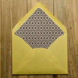 Envelope Liners // Custom Designed //  A7, Square