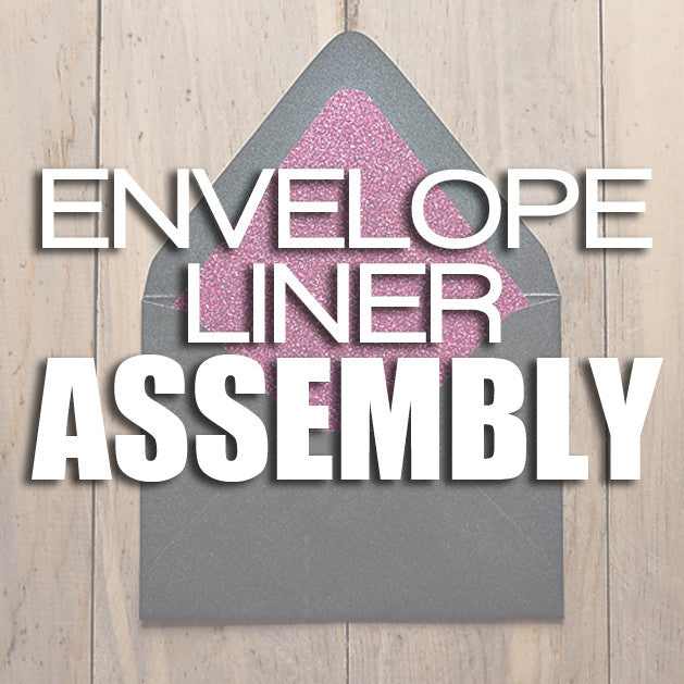 Assembly // Envelope Liners Only