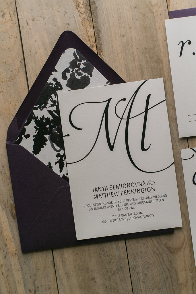 MATTHEW Suite // STYLED // Floral Package