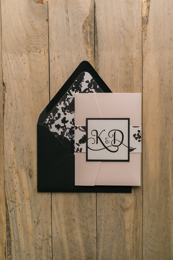 ADELE Suite // STYLED // Floral Pocket Folder Package