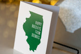 Trendy Holiday Cards // Illinois Holiday