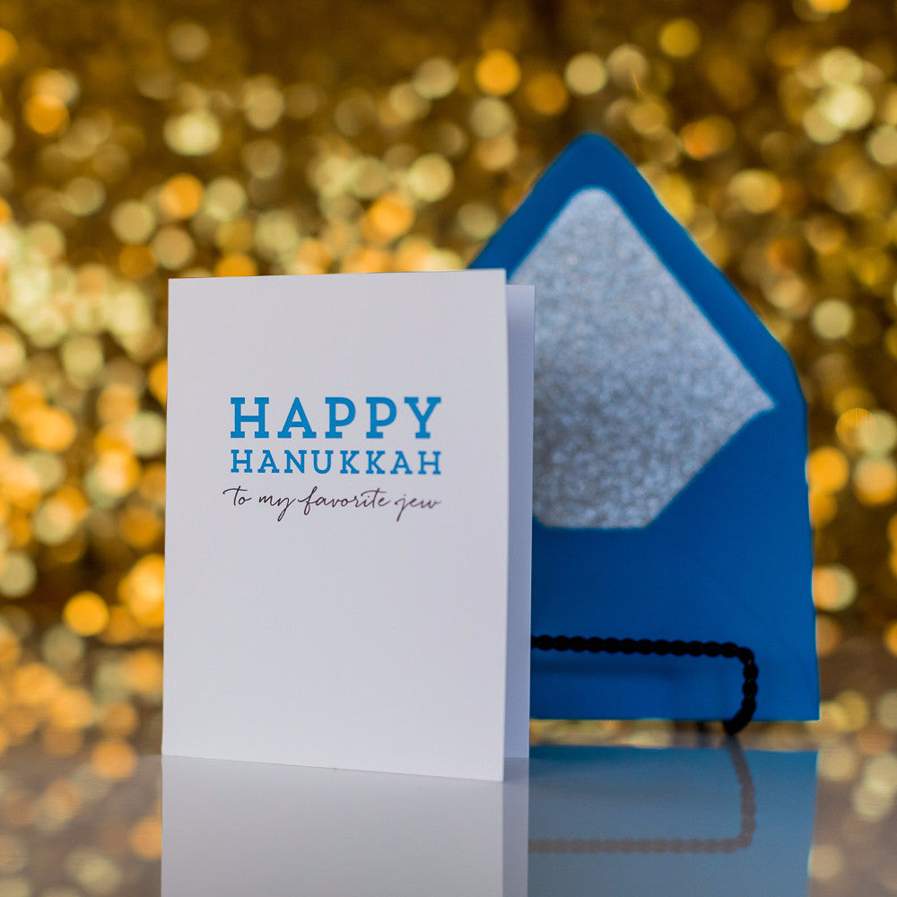 Funny Holiday Cards // Happy Hanukkah
