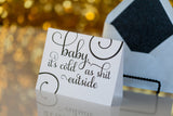 Funny Holiday Cards // Cold as Shit
