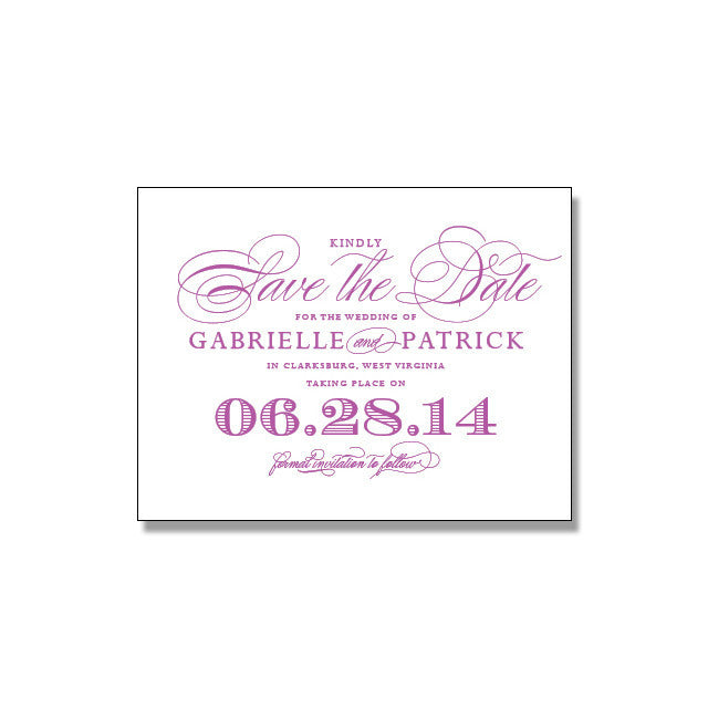 GABRIELLE Save The Date