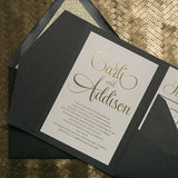 BAILEY Suite // STYLED // Glitter Pocket Folder Package