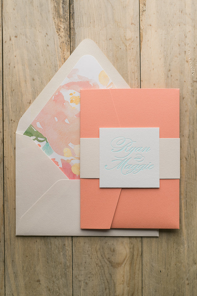 DIANE Suite // STYLED // Floral Pocket Folder Package