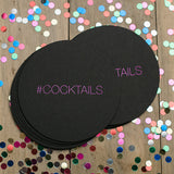 EXTRAS // Round Foil Coasters