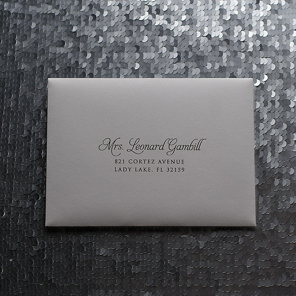 Address Printing for Any Suite // GUEST ADDRESSING // Digital Calligraphy
