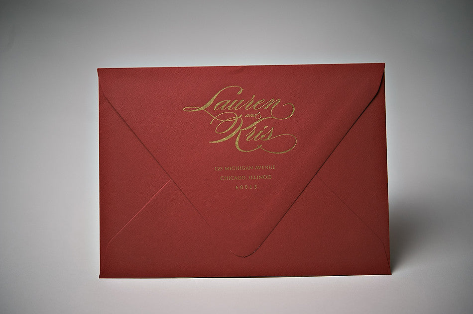 Address Printing for Any Suite // Return Address and RSVP Address