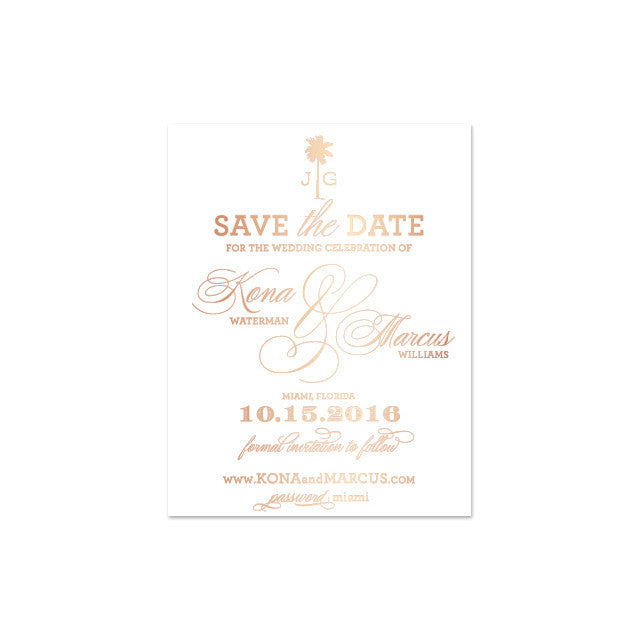 KONA Save The Date