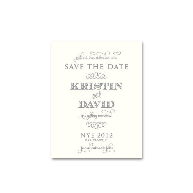 KRISTIN Save The Date