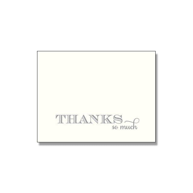 KRISTIN Thank You Card