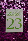 EXTRAS // Table Numbers