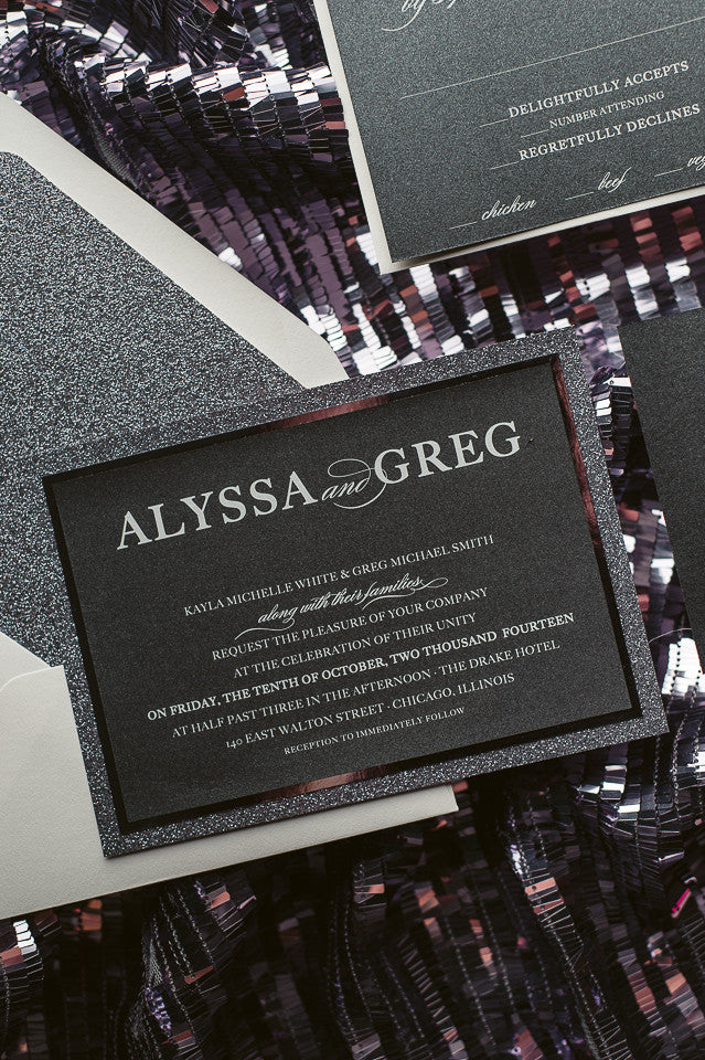 ALYSSA Suite // STYLED // Fancy Glitter Package