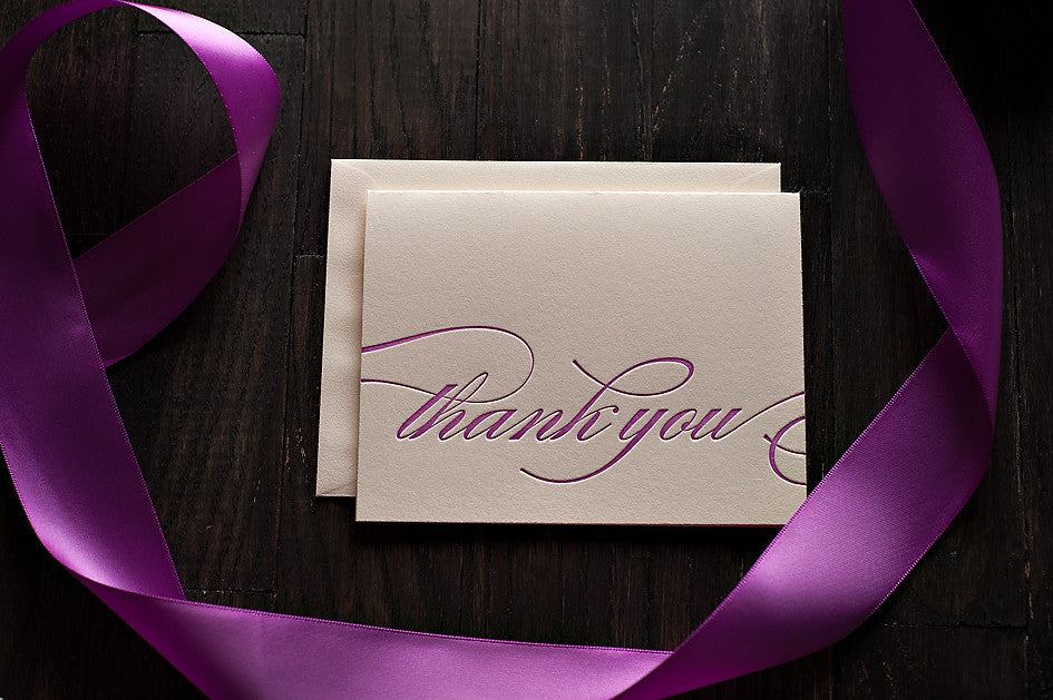 Thank You Cards for any Collection!