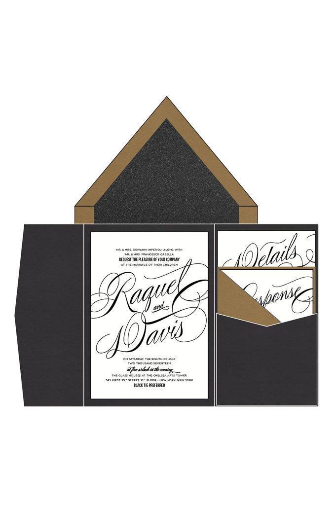 RAQUEL Suite // STYLED // Pocket Folder Package