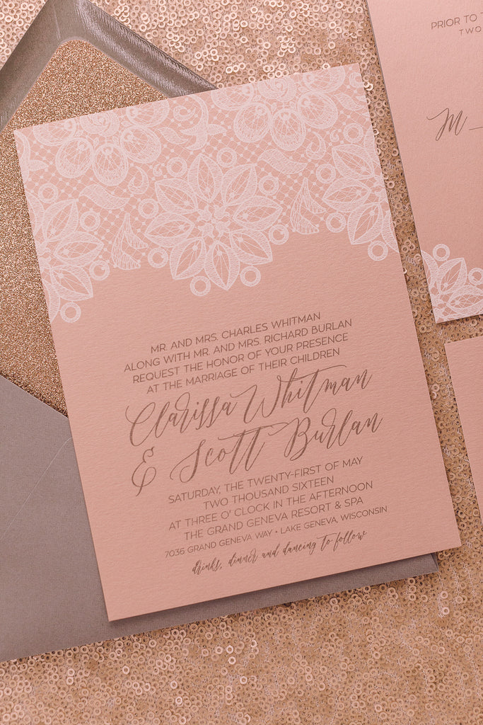 CLARISSA Suite // STYLED // Glitter Package