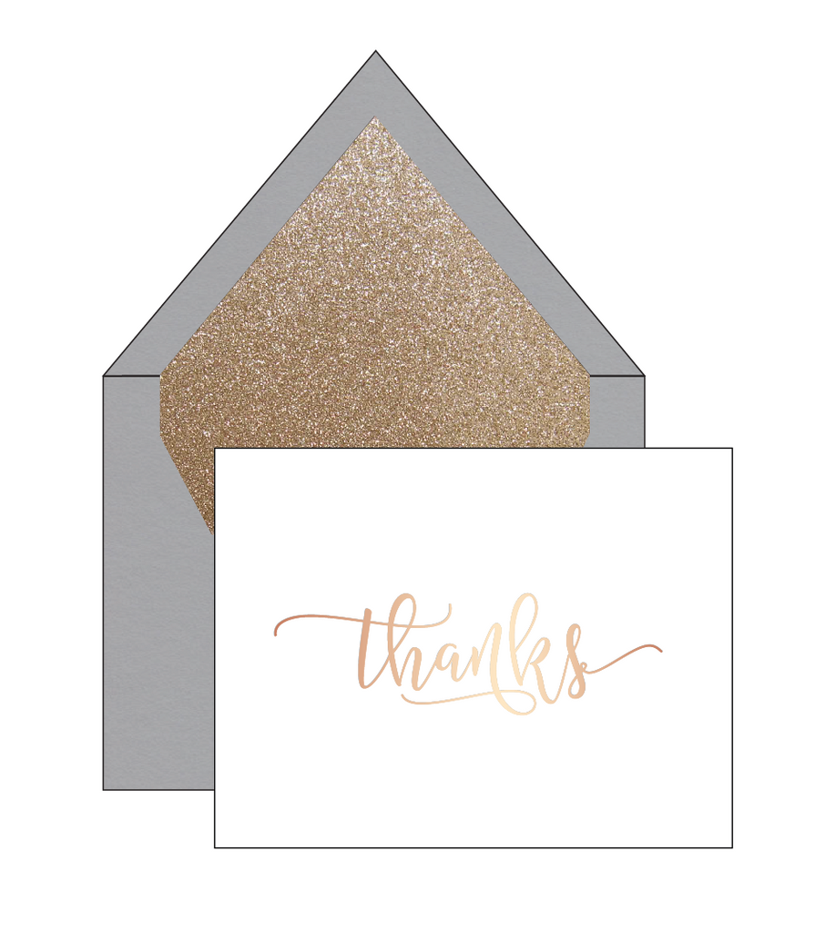 WHITNEY Thank You Card