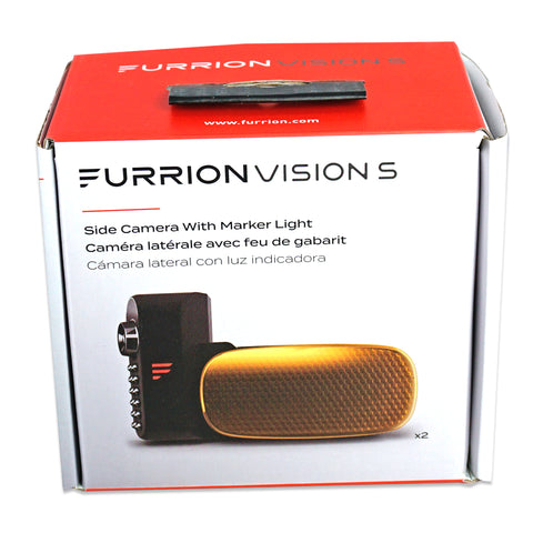 Furrion Side Cameras with Marker Lights