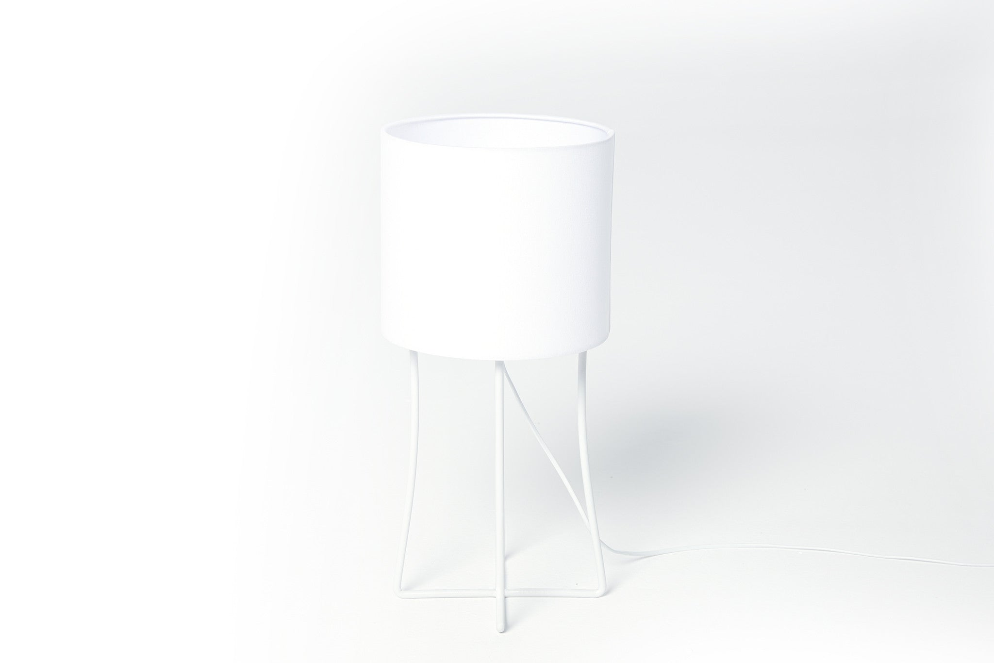 Jasper Table Lamp (White)