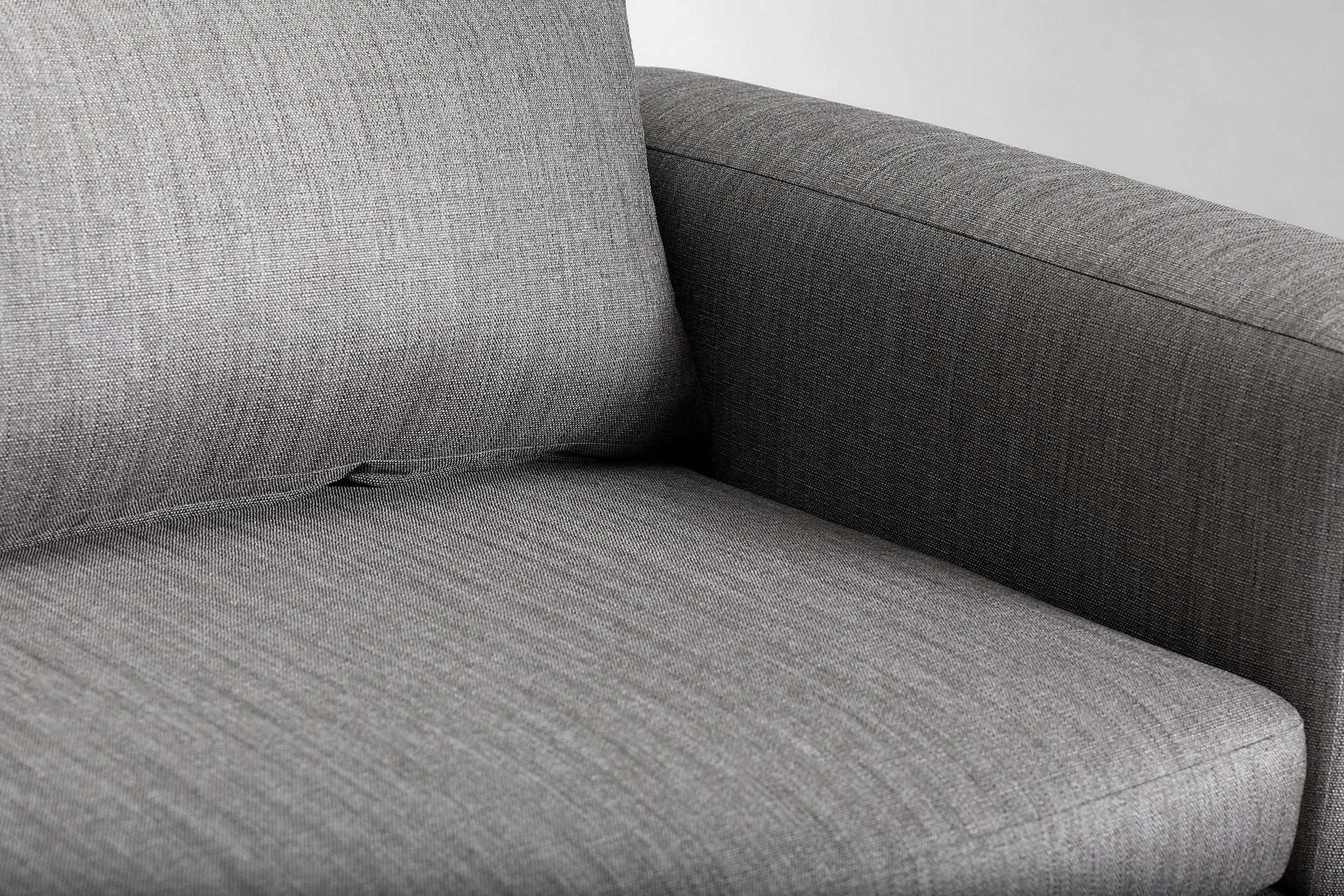 Mirage 2+ Seater Sofa (Aluminium Grey)