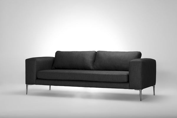 Mirage 2+ Seater Sofa (Pewter Grey)