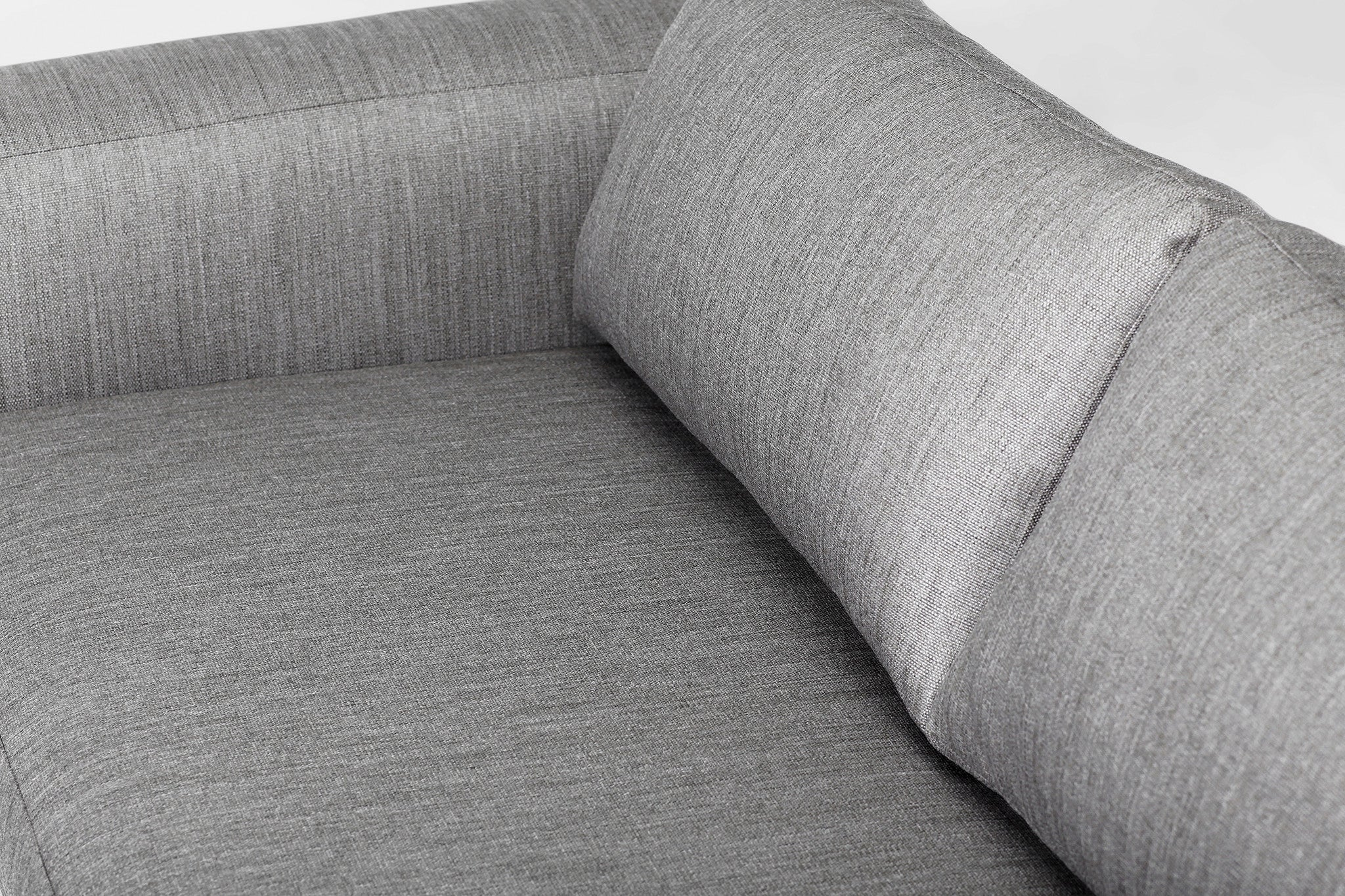 Mirage 3 Seater Sofa (Aluminium Grey)