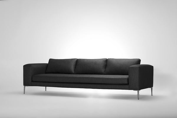Mirage 3 Seater Sofa (Pewter Grey)