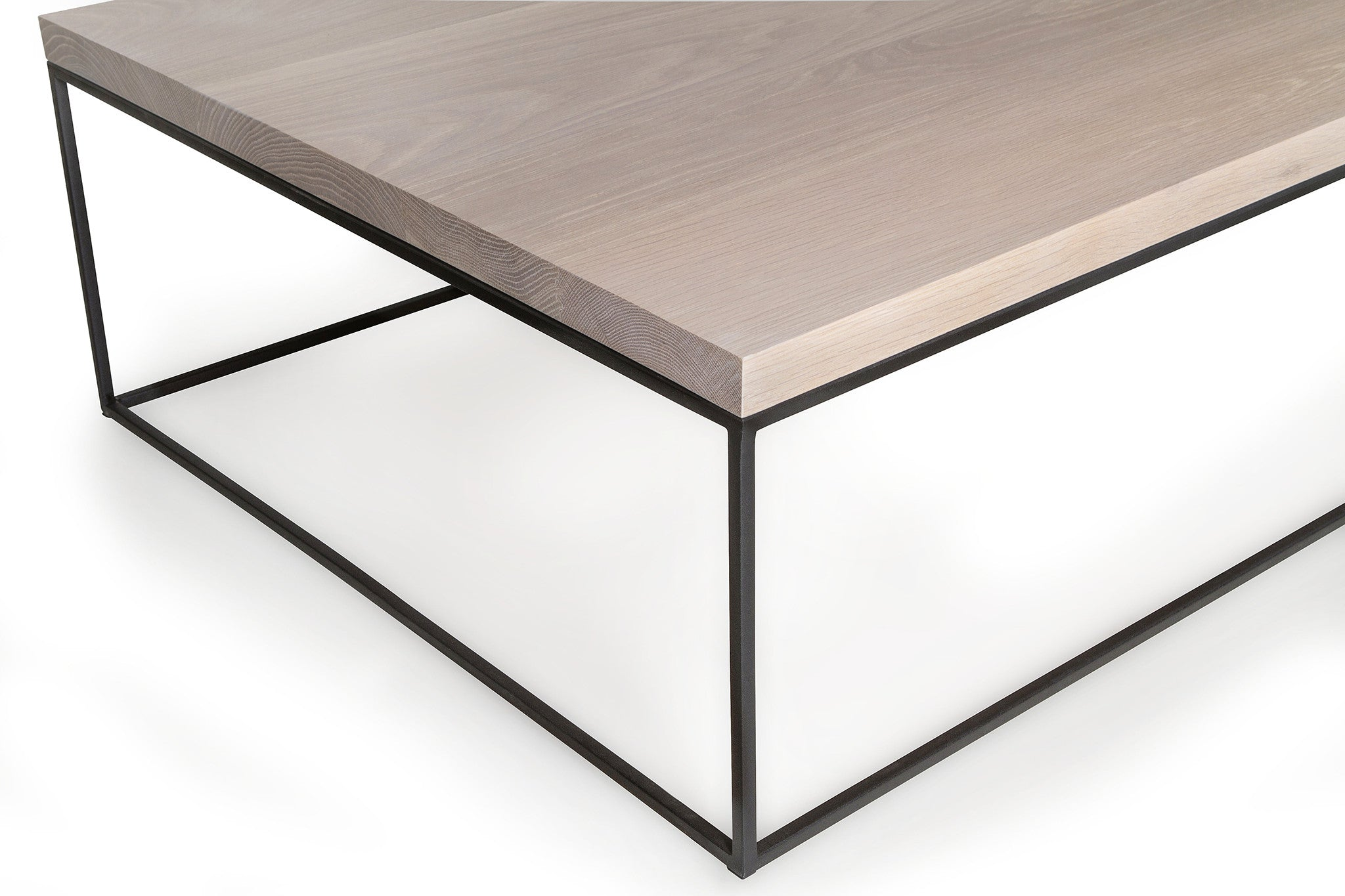 Mirage Coffee Table (White Oak)