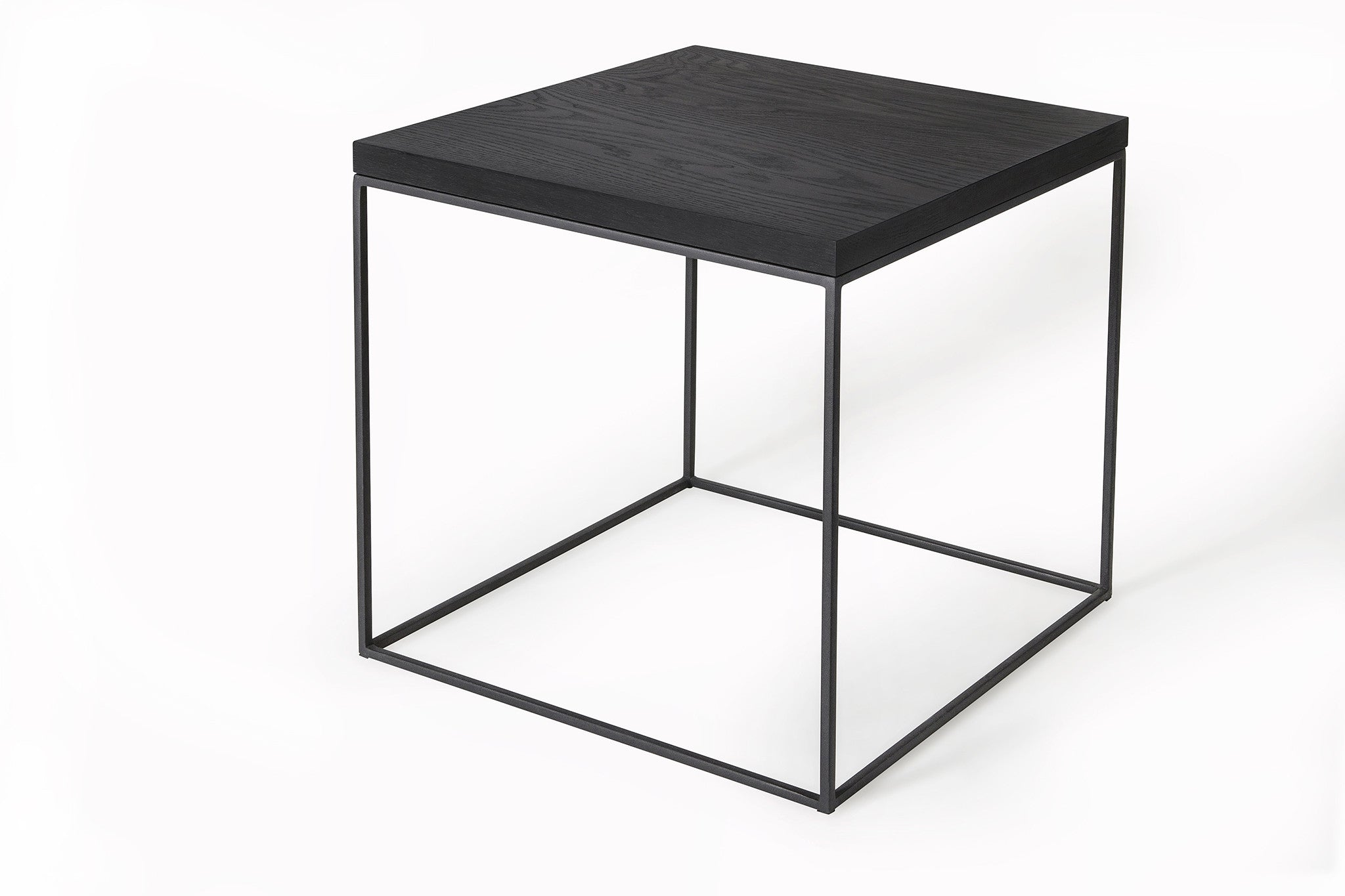 Mirage Side Table (Black Oak)