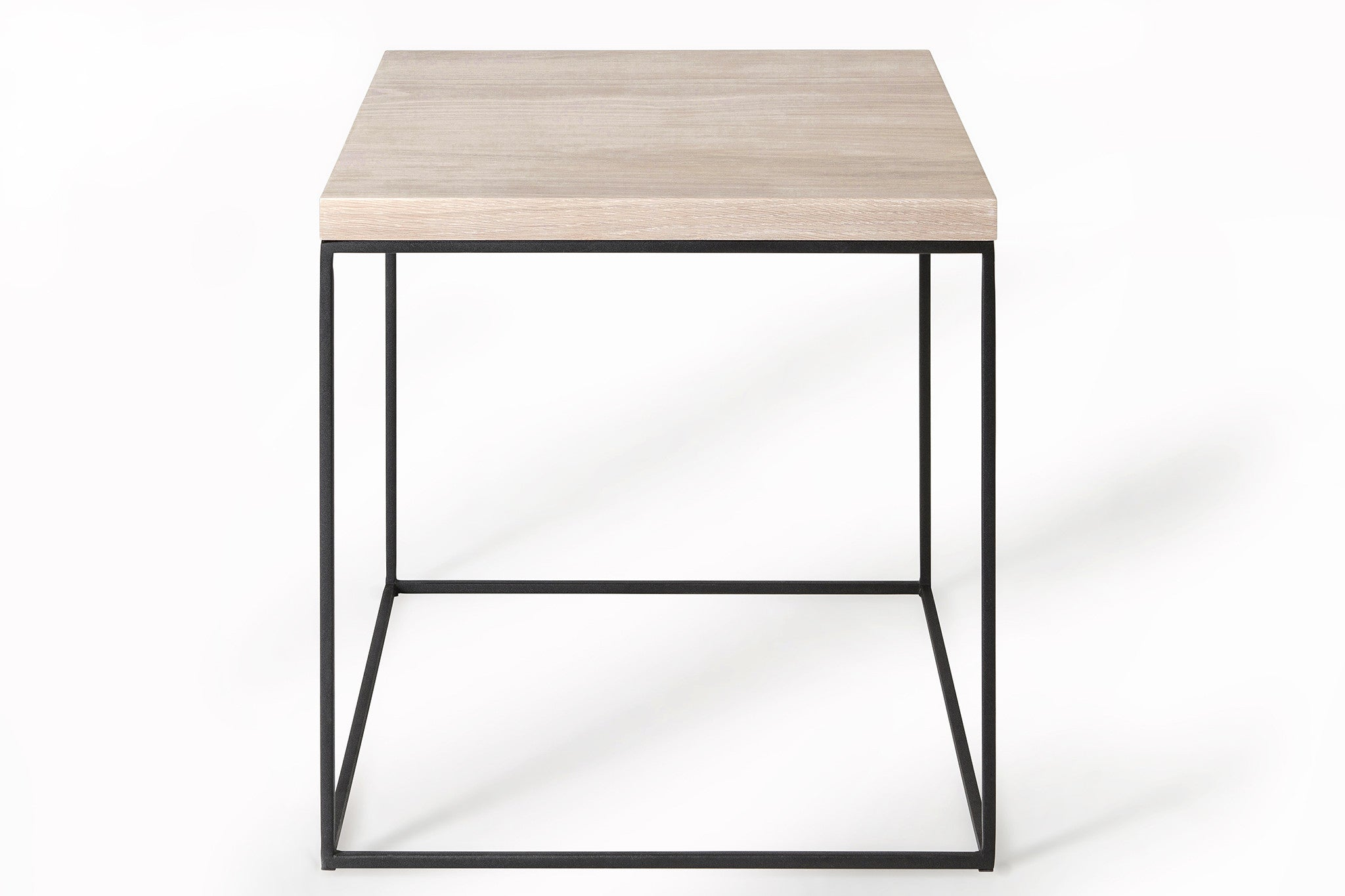 Mirage Side Table - White Oak
