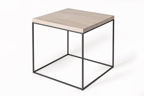 Mirage Side Table (White Oak)