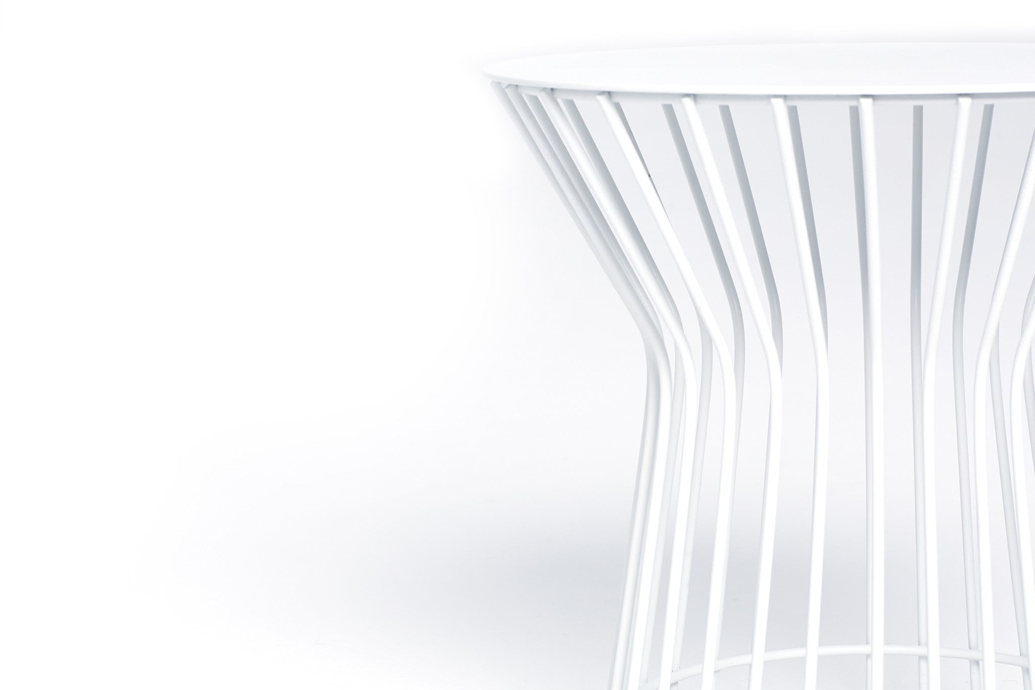 XO Side Table (White)