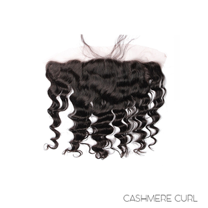 "LACE FRONTAL 13X4"" - CASHMERE CURL"