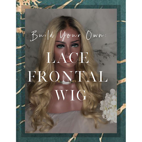 CUSTOM CROWN | Design Your Own Lace Frontal Wig (Add On)