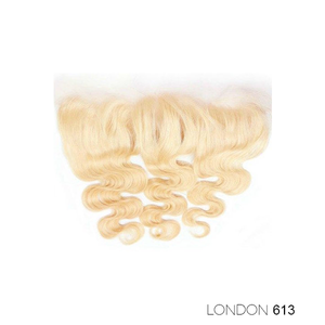"LACE FRONTAL 13X4"" - LONDON 613 BLONDE"
