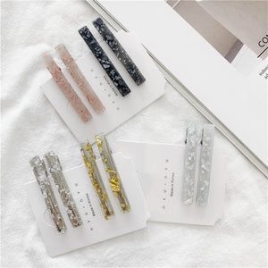 Crushing On You Foil Hair Clips