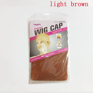 12 Pcs Flesh Toned Wig Cap