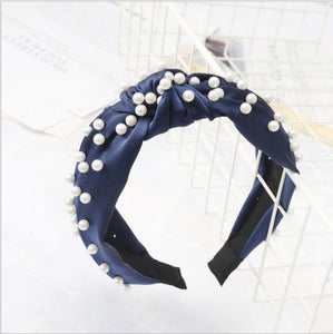 Pearls Rule The World Pearl Turban Headband