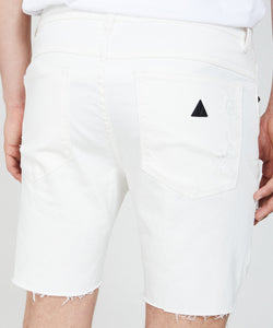 A BRAND - A Dropped Skinny Short White Heat