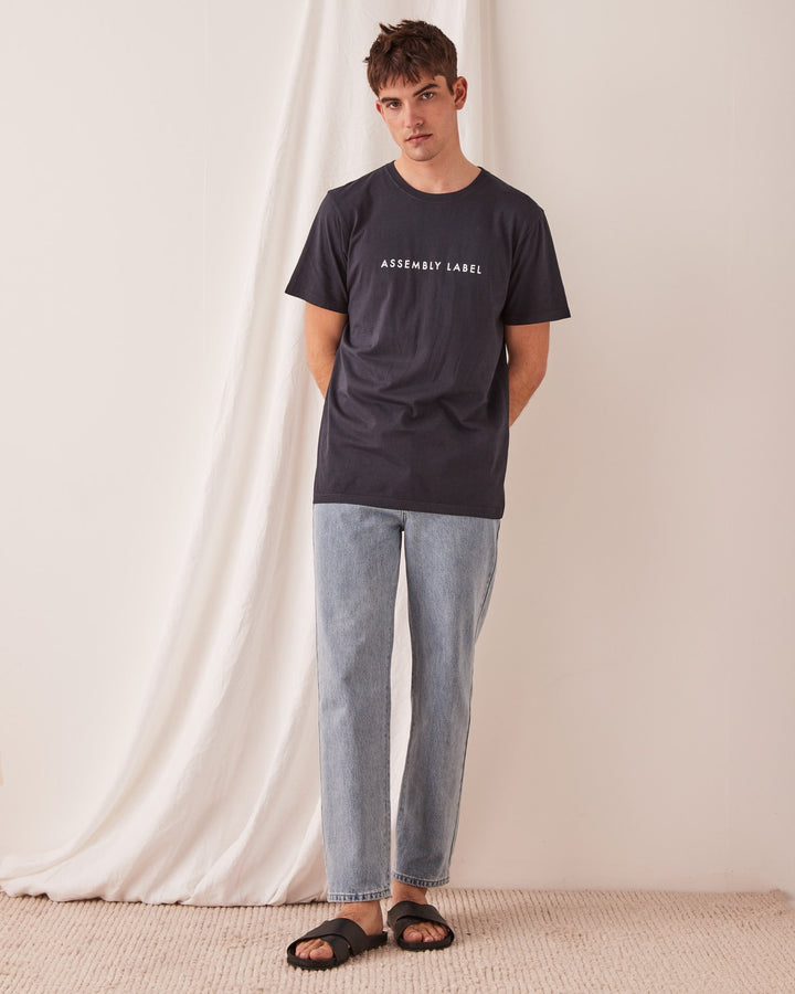 ASSEMBLY - Logo Tee True Navy